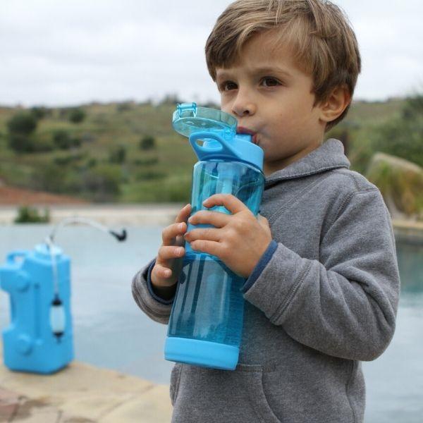survival water filter bottle
